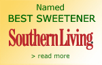 Named Best Sweetener - Southern Living Magazine